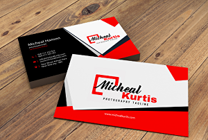 I will design modern professional and unique business card
