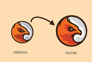 I will do manual vector tracing for you