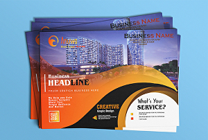 I will create beautiful flyers posters and brochures and unlimited revisions