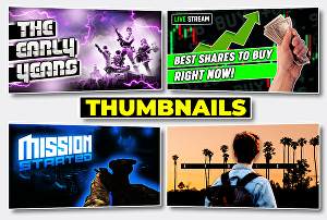 I will design perfect YouTube Thumbnails superfast