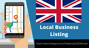 I will manually create 35 live UK directory submissions, local listing
