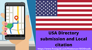 I will manually create 35 live USA directory submissions, local citation