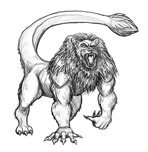 I will design and sketch character or monster concept art
