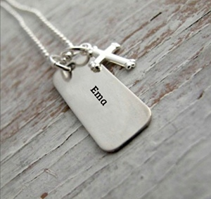 I will write your text on a necklace