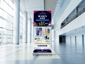 I will Create Unique and Professional Roll up, Pop up , Pull up, Retractable Banner