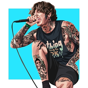 I will draw amazing vector portrait from your photo