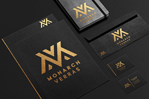 I will design 2 modern minimalist and trendy business logo design