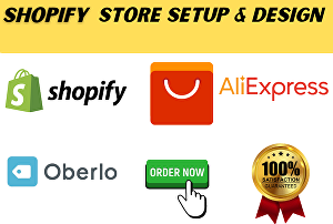 I will build your Shopify Dropshipping store with winning products