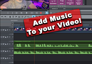I will Add background music to your video
