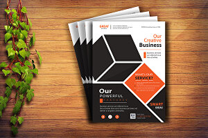 I will do eye-catching flyer design, brochures, and any social media post in one day