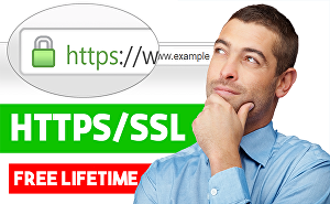 I will install SSL certificate (HTTPS) on your site (Wordpress, WooCommerce) to secure your websi