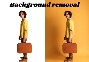 I will do background removal