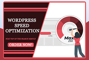 I will improve wordpress website speed, increase website security