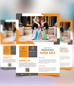 I will design awesome sales poster or flyer