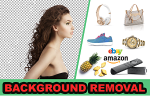 I will edit images, remove images background in photoshop