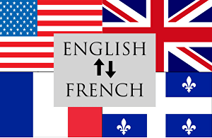 I will translate English to French and French to English up to 500 words