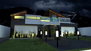 I will make an architectural 3D model