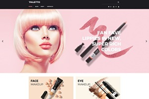 I will design skin care, makeup, spa, beauty salon or cosmetics website