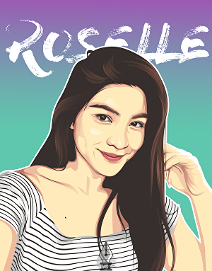 I will make your Photo into Vector Art with your Name in the background
