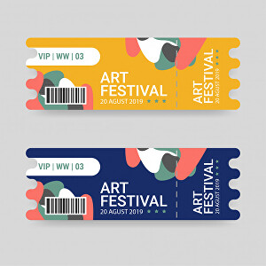 I will Design an Event ticket