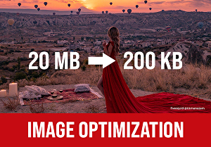 I will optimize images for website or reduce image size for web