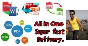 I will create Word Document using your existing files such as PDF, JPG, PNG, Images, etc