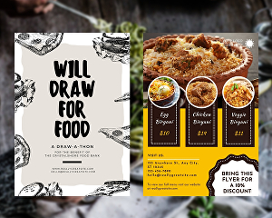 I will design flyers and posters in Canva