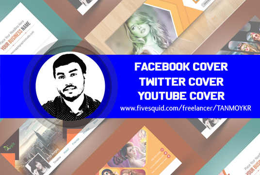 Design Facebook, Twitter, YouTube Cover, and Other Social Media Cover Designs