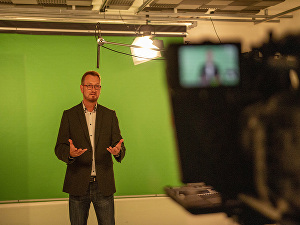 I will create a presenter led, spokesperson video for your website, TV advert or social media pos
