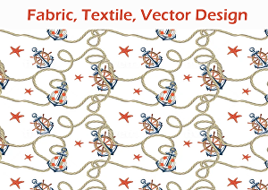 I will design fabric, textile, vector seamless repeat pattern for you