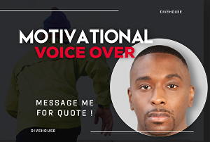 I will Record Warm Bold Motivational Voice Over