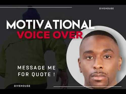 Record Warm Bold Motivational Voice Over