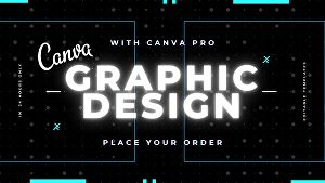 I will design anything in Canva Editable, Pro