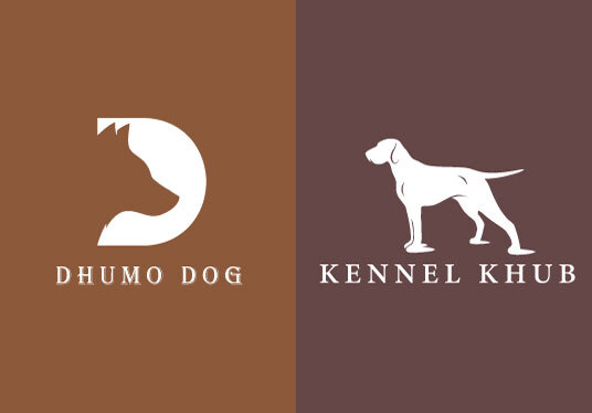 design modern and unique dog and animal logo