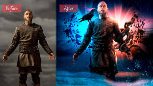 I will do photo manipulation, Image editing, and blend images in Photoshop