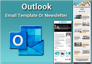 I will Develop Outlook Responsive HTML Email Template or Newsletter
