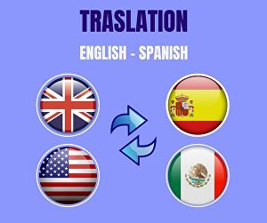 I will translate 1000 words from English to Spanish and Spanish to English