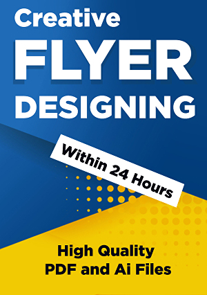 I will design attractive and creative flyer design for your business marketing