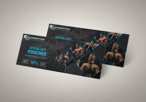 I will design gift voucher, gift certificate, or coupon