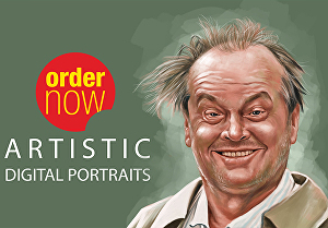 I will draw  realistic digital oil painting portrait from your photo