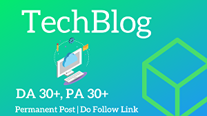 I will publish guest post on Tech Blog