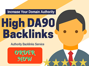 I will Manually create 50 DA90 Dofollow Backlinks+10 High PR9 Social Bookmarks