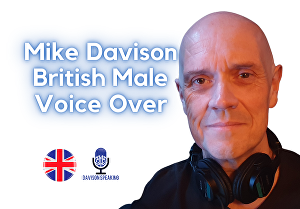 I will record a British Male Voice Over 150 Words With 1 FREE REVISION