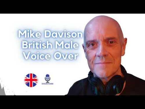 record a British Male Voice Over 100 Words With 1 FREE REVISION