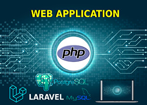 I will develop a professional web app using Laravel and Bootstrap
