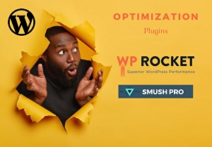I will install Wprocket and Smush Pro plugins on your WordPress website