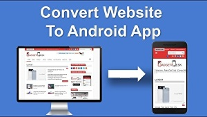 I will convert WordPress website to an android WebView app