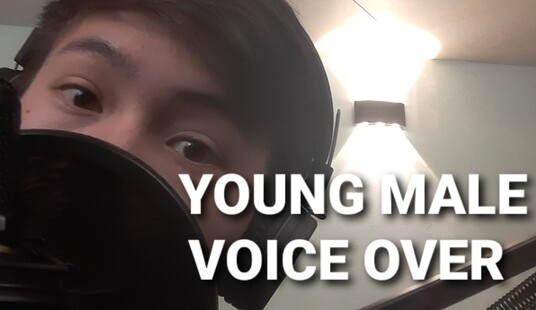 voice over your young North American male character for your project