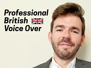I will record a professional British Male Voice Over of up to 100 words