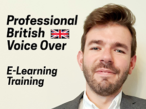 I will record a professional British Male Voice Over for E-Learning or Training up to 100 words